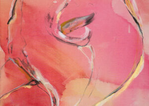 Cala Lily, Oil on Canvas